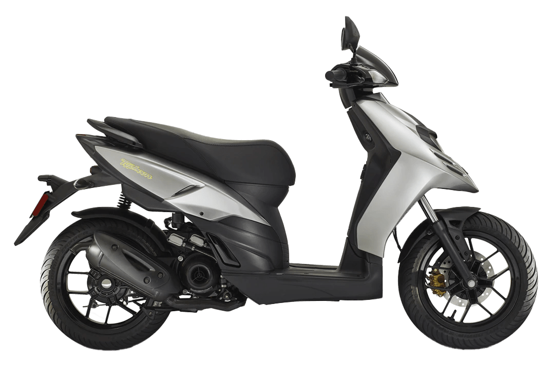 scooter piaggio typhoon gris 50